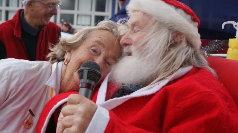 Santa In Heaven