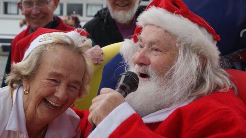 Santa is Happy